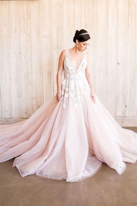 Styling a Modern Bridal Tiara with a Blush Wedding Dress   Hey Wedding Lady