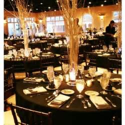 Great Gatsby Table Setting - black white centerpieces wedding reception photos amp pictures polyvore