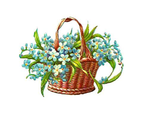 design a flower basket basket of flowers clip art clipart best