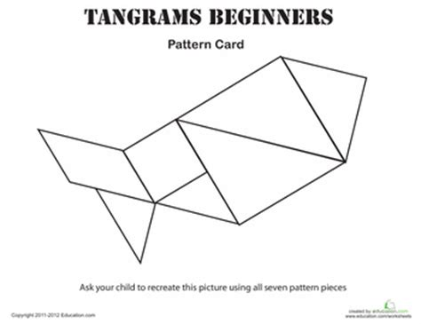 printable geometric puzzle easy tangrams puzzle 3 math kids education and school