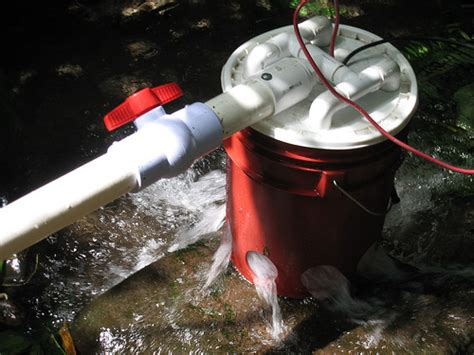 diy hydroelectric generator five gallon ideas