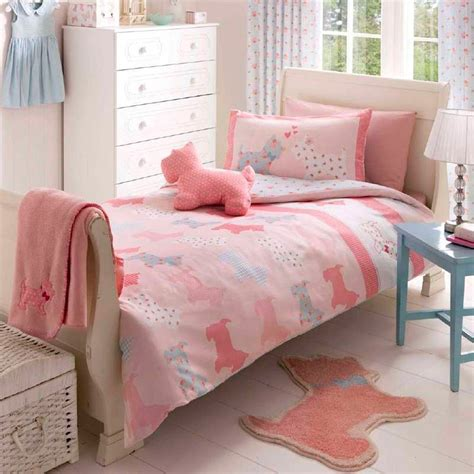 Single Bedding And Curtain Sets Scottie Single Quilt Duvet Cover Or Curtains Or Throw Bedding Bed Sets Ebay