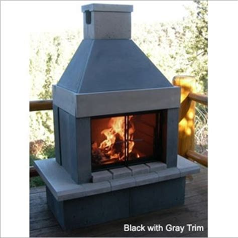 prefab outdoor fireplace great reviews home