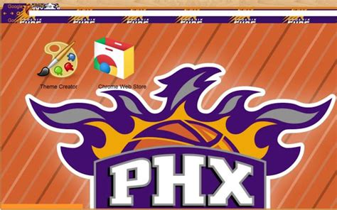 chrome themes nba phoenix suns chrome web store