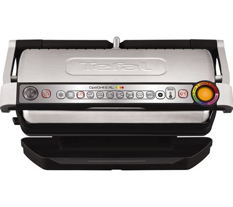 Tefal Grill by Buy Tefal Optigrill Xl Gc722d40 Grill Stainless Steel