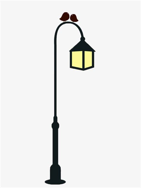 light poles in la light vector free pixshark com