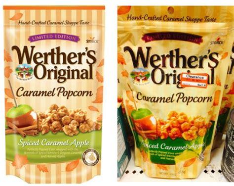 werther's original carmel popcorn as low as $0.48 at