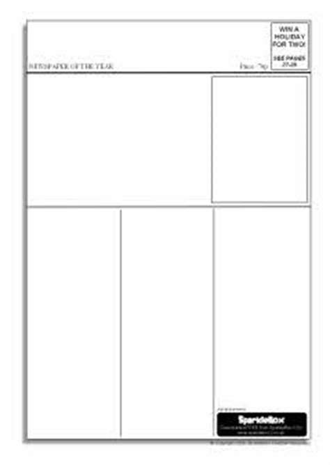 newspaper layout template ks3 editable newspaper templates sb6536 sparklebox