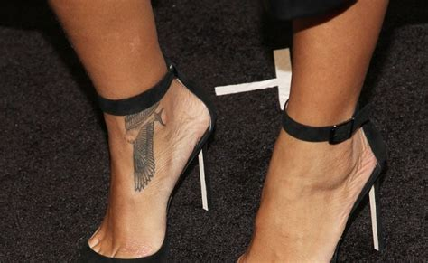 rihanna ankle tattoo 6 best rihanna tattoos that a can try style presso