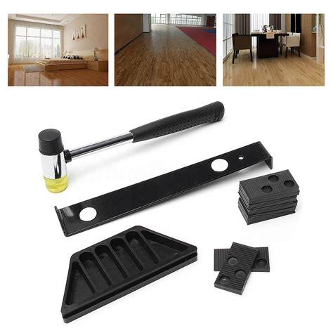 Wood Floor Installation Tools Wood Flooring Laminate Installation Kit Set Wooden Floor Fitting Tool For Home Ebay