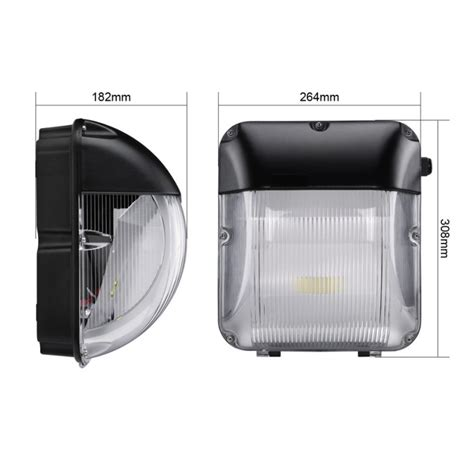 Led 30watt Emergency Outdoor Wall Pack Bulkhead Ledbrite Commercial Outdoor Led Lights