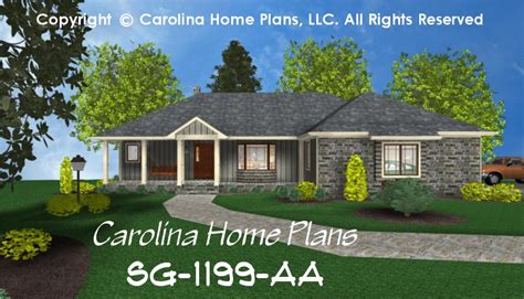 1 story ranch style house plans small ranch style house plan sg 1199 sq ft affordable small home plan under 1200