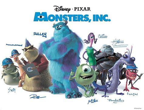 film cartoon monster university monsters inc cast all things pixar pinterest