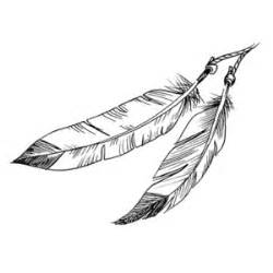 hand drawn series feathers polyvore