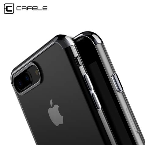 Cafele Ultra Thin For Iphone 7 Iphone 7 Pluse Original aliexpress buy cafele ultra thin transparent soft tpu for iphone 7 cases electroplate