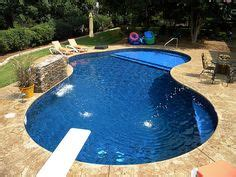 Swimming Pool Garten 566 by Concrete Pool With An 8 Spa And Many Rock Features