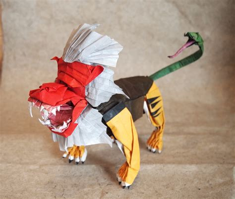 Origami Ballet Dancer - amazing mythological origami creations you to see to