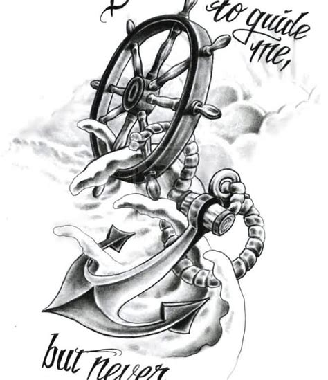 tattoo flash compass and anchor by tausend nadeln on best compass tattoo flash ideas styles ideas 2018