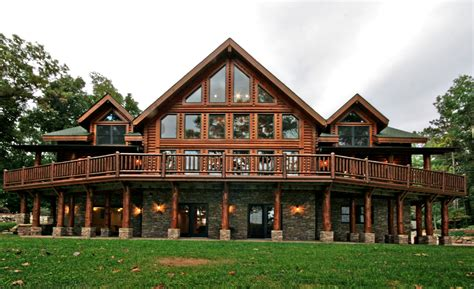 country homes log home on acreage and lakefront united country michigan lifestyle properties