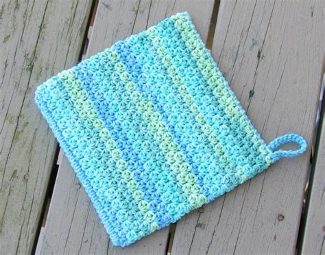 pot holder pattern easy crochet dreamz how to crochet an easy peasy potholder