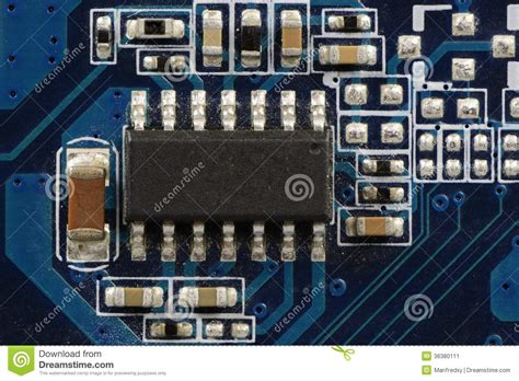 computer integrated circuit board integrated circuit stock image image of component integrated 36380111