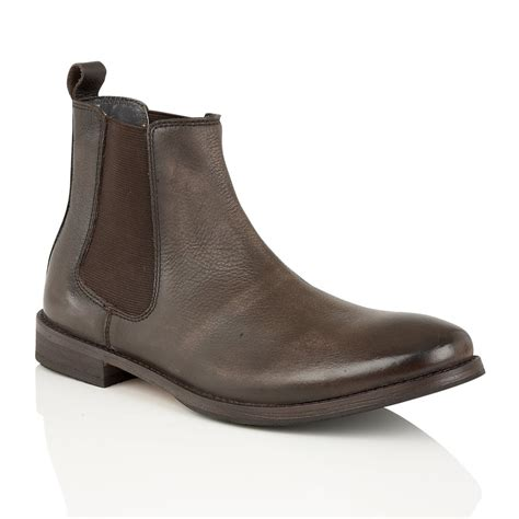 buy s frank wright omar brown leather chelsea boots