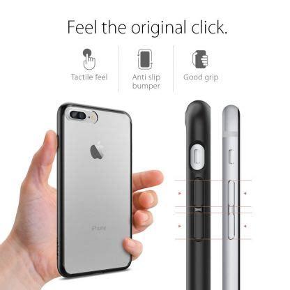 Spigen Iron Iphone 7 Plus spigen ultra hybrid удароустойчив калъф за iphone 7 plus черен прозрачен на топ цена
