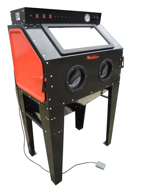 Blasting Cabinets by Redline Engineering Re40 Abrasive Sand Blasting Cabinet
