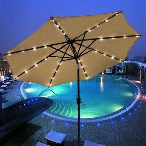 Solar Patio String Umbrella Lights 24 Best Images About Solar Lights On Outdoor Patio Umbrellas Solar And String Lights