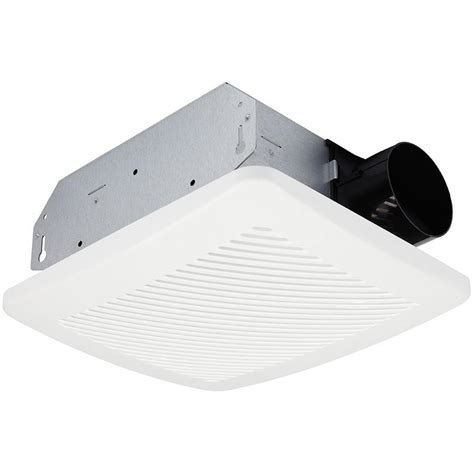 utilitech humidity sensing bathroom fan shop utilitech 2 0 sone 70 cfm white bathroom fan energy star at lowes com