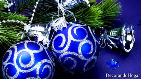 arbol navidad azul decoraci 243 n 193 rbol de navidad azul tendencias