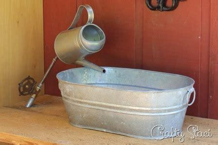 Galvanized Kitchen Sink by 14 Genius Ways To Repurpose Galvanized Buckets And Tubs