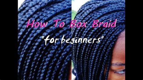 install box braids  beginners youtube