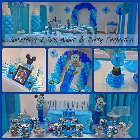 Baby Shower Decorations Mickey Mouse by Its A Boy Baby Mickey Baby Shower Decor Decor By Perfection Baby