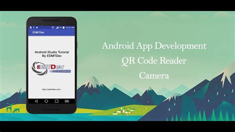 android studio qr code tutorial android studio tutorial scan qr code by camera youtube