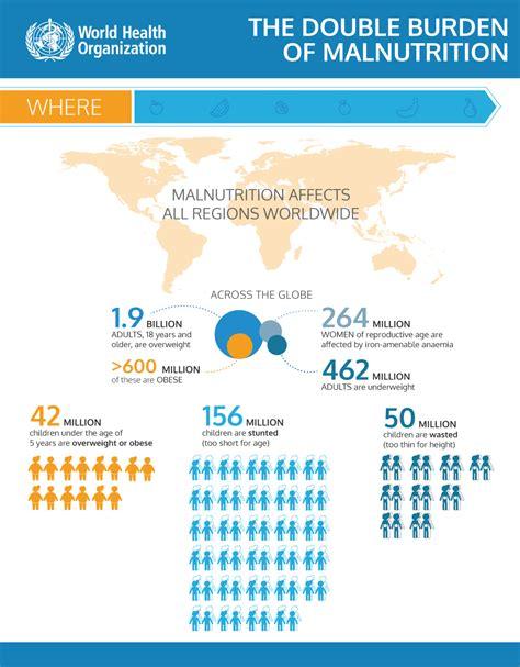 infographics  double burden  malnutrition