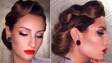 Vintage Bridal Hair Tutorial by Best 25 Vintage Updo Ideas On Vintage Bridal