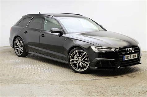Audi A6 Quattro S Line by Used 2017 Audi A6 Avant Tdi Quattro S Line Black Edition
