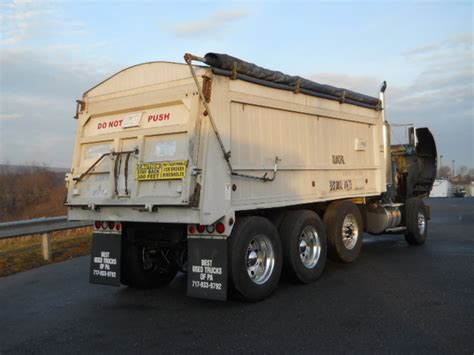 for sale kenworth truck kenworth tri axle aluminum dump truck for sale 8254