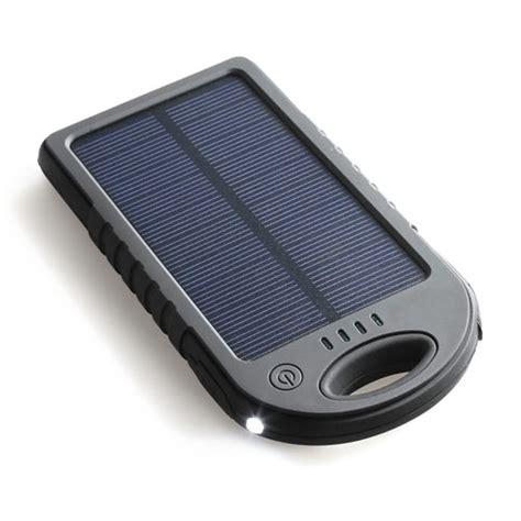 Power Bank Solar Charger 5000mah 5000mah portable solar charger power bank ividar canada