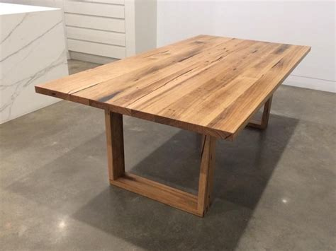 recycled wood dining table recycled messmate dining table by eco wood design
