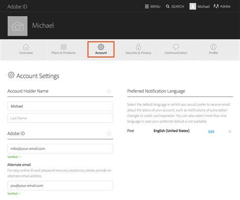 Design Html Email Adobe | управление учетной записью adobe id