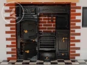 Kitchen Stove Accessories A Georgian Dolls House Victorian Kitchen Range