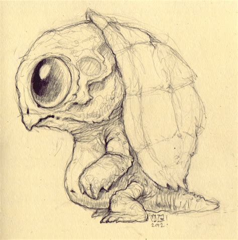 how to draw doodle creatures image gallery mutant drawings