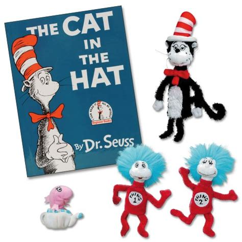 cat in the hat pictures from the book the cat in the hat book and finger puppets