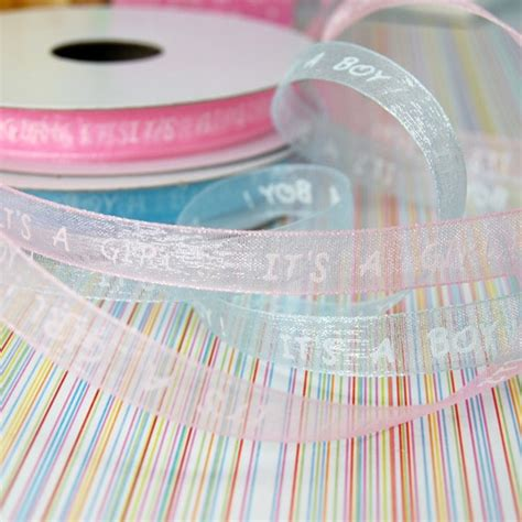 baby shower ribbon for baby shower organza ribbon
