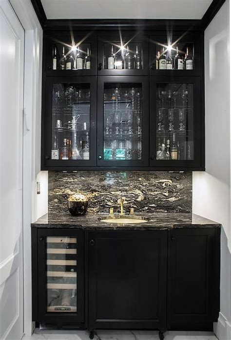 Built In Bar Cabinets With Sink Best 20 Bar Cabinets Ideas On Bars