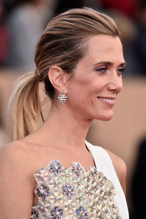 Kristen Wiig Hairstyles by Kristen Wiig Ponytail Hair Lookbook Stylebistro
