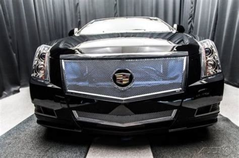 cadillac cts coupe grille sell used cts coupe black 20 gianelle custom grille