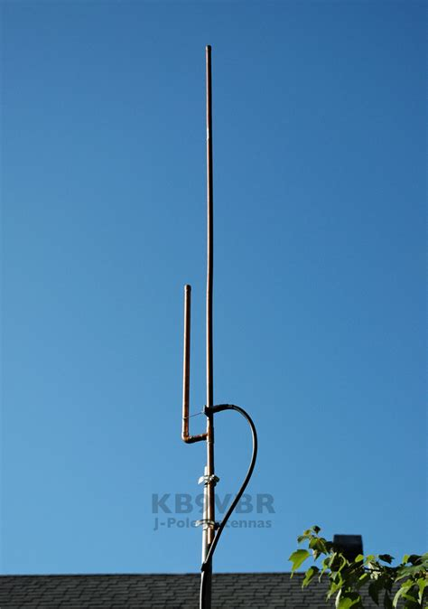 2 meter slim jim antenna kb9vbr j pole antennas